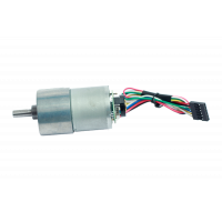 Geared DC Motor with Encoder (100:1)