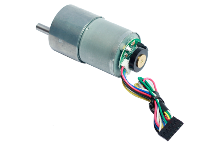 Geared Dc Motor With Encoder 30 1